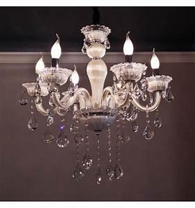 Lustre Baroque Maison Du Monde : lustre pampilles cristal blanc 6 bras baroque roma ~ Melissatoandfro.com Idées de Décoration