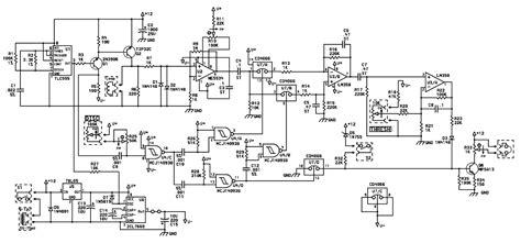 Surfmaster Metal Detector Schematic Diagram