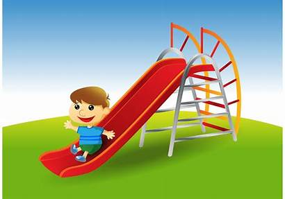 Slide Playground Park Playing Graphics Equipment Parks