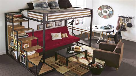 chambre avec lit mezzanine comment aménager une chambre avec mezzanine