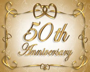 fiftieth wedding anniversary how to throw a 50th wedding anniversary