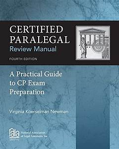 9781285162584  Certified Paralegal Review Manual  A