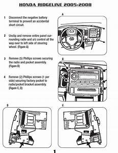 2006 Honda Ridgeline Stereo Wiring Diagram