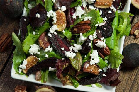 beet salad  feta  figs feasting  fasting