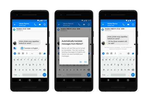 Spanish Translate Facebook Messenger Can Now Translate Between Spanish And