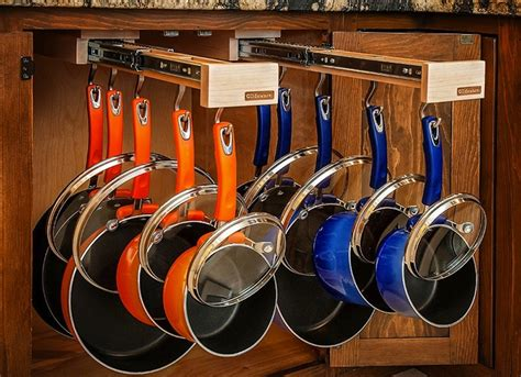 kitchen storage ideas  pots pans bob vila