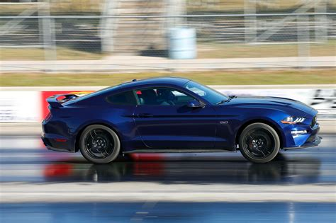 mustang gt 2018 drag testing the 2018 ford mustang gt rod network