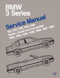 car maintenance manuals 1998 bmw 3 series parking system 1992 1998 bmw 3 series e36 bentley factory service repair manual