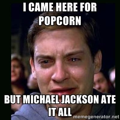Michael Jackson Popcorn Meme 35 Most Michael Jackson Meme Pictures And Photos