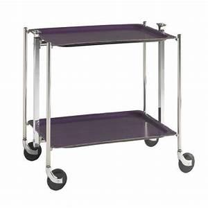 Table Roulante Pliante : platex la table roulante pliante 2 etages achat ~ Dode.kayakingforconservation.com Idées de Décoration