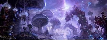 Abyss Underdark Dnd Grove Neverlight Fungal 5e