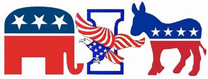Republican Democrat Party Independent Elephant Registration Say