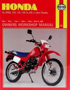 Honda Xl  Xr 80  100  125  185  U0026 200 2