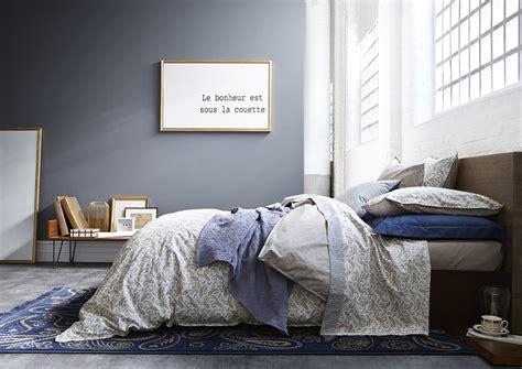 chambre bleu gris 5 chambres autour du gris