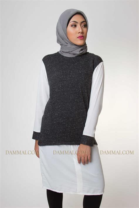 Joyagh Tunik Pashmina model baju muslim terbaru dan modern bentuk tunik modis