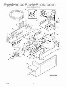 Parts For Frigidaire Lgub2642lf2  Ice Maker Parts