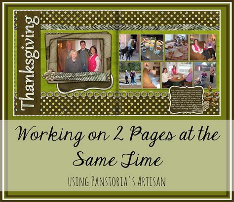 Two Pages @ Once   Digital scrapbooking, Scrapbooking and