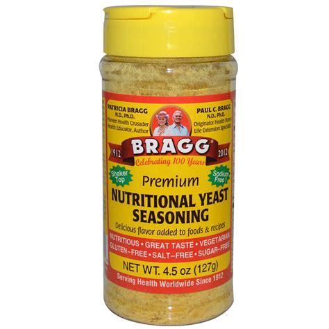 nutritional yeast bragg premium nutritional yeast seasoning 4 5 oz 127 g iherb com