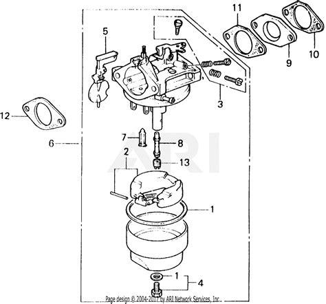 Honda Carb Diagram Cleaning by Honda Eg1000 A Generator Jpn Vin G150 1005695 Parts