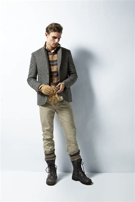 Rugged Fancy Winter Style For Men