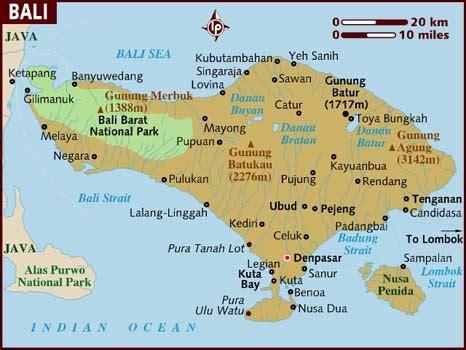 maps map bali