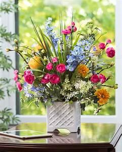 Larkspur, Ranun... Silk Flowers