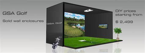 homemade golf simulator homemade ftempo