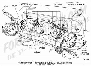 Full 1967 Ford F100 Wiring Harness