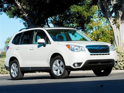 subaru cars 2014 12 best family cars 2014 subaru forester kelley blue book