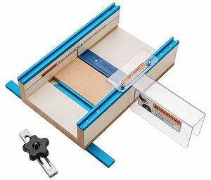 Rockler Table Saw Small Parts Sled - Woodworking Blog