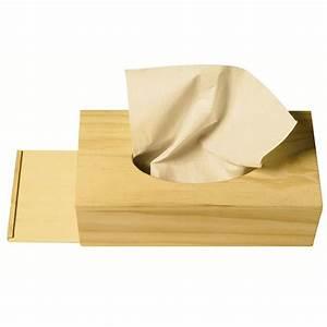 Boite A Mouchoir Original : boite mouchoirs en bois chez rentreediscount loisirs cr atifs ~ Melissatoandfro.com Idées de Décoration