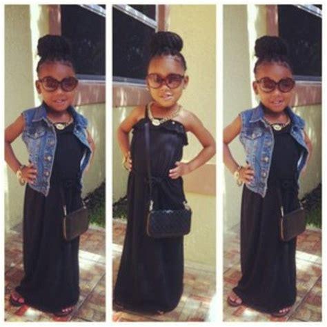 Kids fashion Beautiful black kids dope kids fashion dope kids fashion #kids #fashion # ...