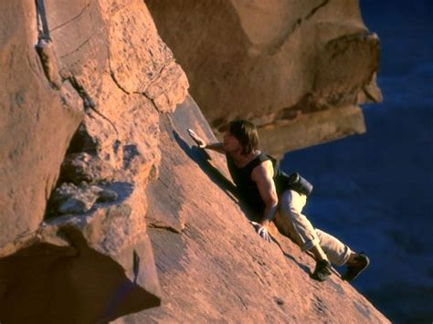 The Injured Player Rock Climbing