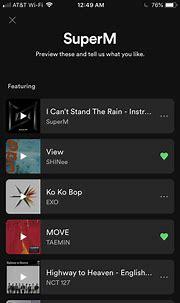 Nct Members Spotify Playlist