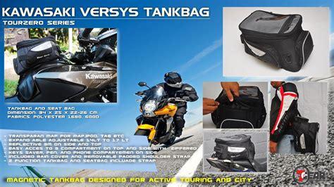 Tankbag Tourzero Z1 7gear 7gear tourzero versys rp 450 000 jri motorbike gears