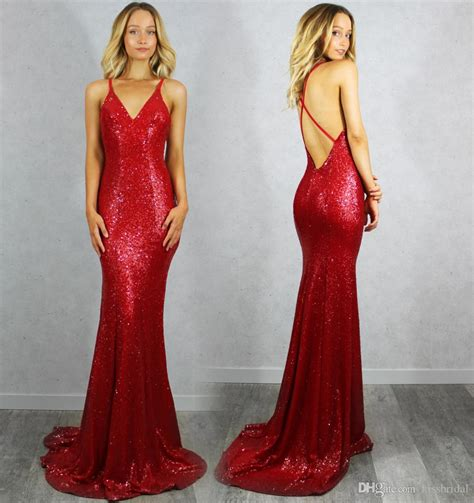 Boat Neck Gown Cutting by Chic 2016 Mermaid Prom Dresses V Neck Criss Cross