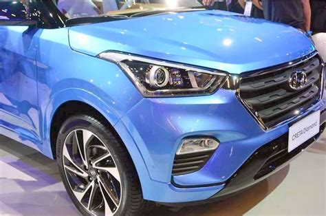 hyundai creta diamond edition debuts  white  brown