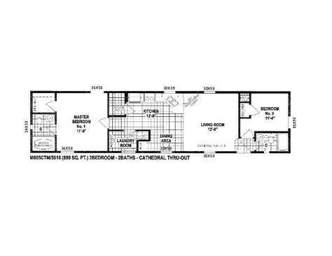 scotbilt mobile home floor plans singelwide floor plans  single wide manufactured homes