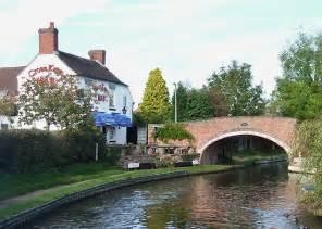 The Boat Inn Penkridge by The Cross And Filance Bridge 169 Roger Kidd