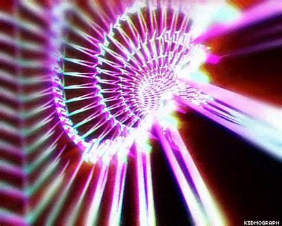 Animated Loop Hypnotic Gifs Retro Kidmograph Futuristic