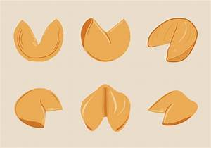 Free Fortune Cookie Vector Illustration Download Free