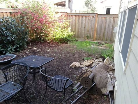 portland paver patio before after