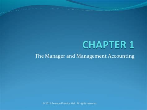Chapter 1 Power Point Presentation