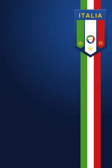 italy football crest iphone wallpaper hd