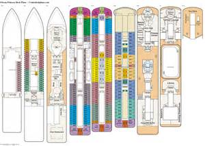 caribbean princess ship deck plans pictures to pin on pinsdaddy