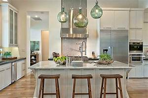 white granite countertops eclectic kitchen With what kind of paint to use on kitchen cabinets for sea fan wall art