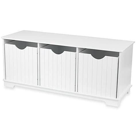 white storage bench kidkraft 174 nantucket white storage bench bed bath beyond