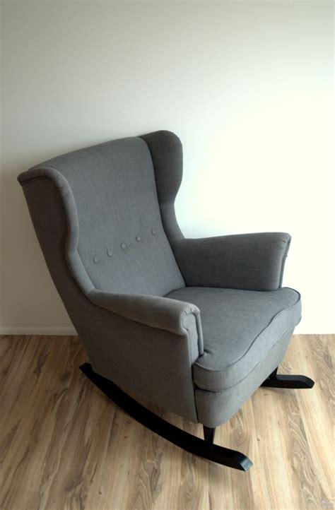 Ikea Rocker Recliner by Ikea Hack Strandmon Rocker Diy Wingback Rocking Chair