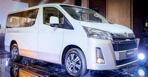 toyota hiace commuter   hiace delivery van