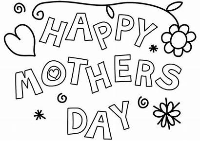 Mothers Coloring Happy Pages Printable Mother Grandma